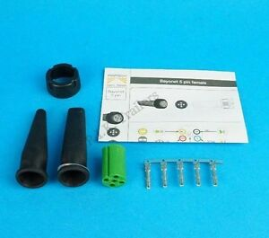 Replacement Green 5 Pin Plug for Aspock Earpoint & Multipoint Trailer Lamp Light
