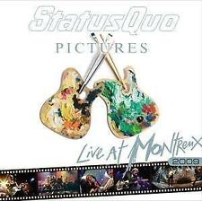 Statu Quo-Pictures-Live at Montreux 2009 CD NEUF & dans son emballage d'!