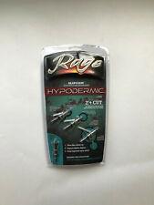 1 pk Rage Hypodermic SlipCam 2 Blade 100 Grain 2