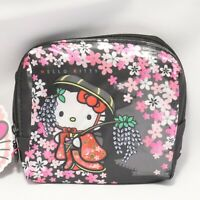 Hello Kitty Cute Kawaii Compact Eco Bag Cherry Blossom Kyoto Japan