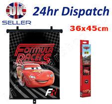 Disney CARS Boy Car Window UV Protector Roller Blind Sun Shade 36x45cm