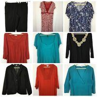 Womens Top Pants Dress Summer Plus Size 18 Crossroads Casual Stretch #W284