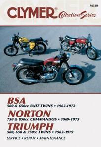 BSA Twin - Norton Commandos - Triumph Twins 1963-1979 Repair Manual