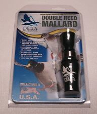 Delta Waterfowl Double Reed Mallard Duck Call - Buck Gardner USA Duck Hunting