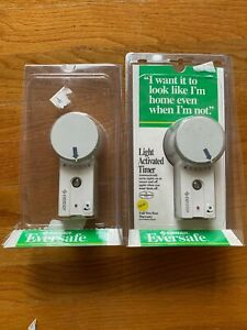 Eversafe Light Activated Timer PHT1 Lot of 2