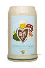 2017 Munich Oktoberfest Stein - 1 Liter - Mugs Stocked in USA by Beer Gear