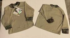 NWT CHILDREN'S Khaki & REALTREE APG CAMO LONG-SLEEVE T-SHIRTS 0-6M  6-12M  6-7