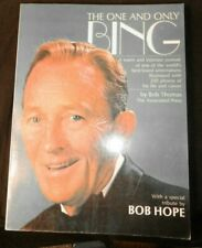 The One and Only Bing 1977 PB Profusely Illustrated Life and Career Bing Crosby