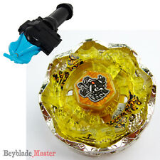 Fusion METAL Beyblade Masters BB119 Death Quetzalcoatl+BLUE STRING LAUNCHER+GRIP