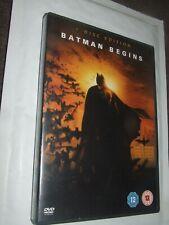 BATMAN BEGINS Christian Bale DVD