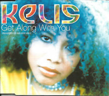 KELIS Get Along With you 3 MIXES / EDITS & VIDEO CD Single SEALED USA seller