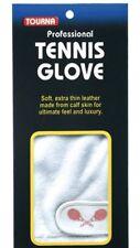 Tourna Men's Half Finger Tennis Glove Soft Sheepskin Leather Right Hand Medium
