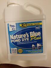 Pond Logic Nature's Blue Plus Bacteria 1 gallon Pond & Lake Dye by Airmax