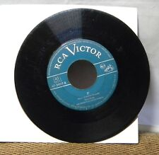 PERRY COMO ZING ZING ZOOM ZOOM 45 RPM RECORD