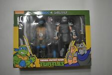 NECA TMNT LEONARDO VS SHREDDER 2 PACK MISSING SHIPPING