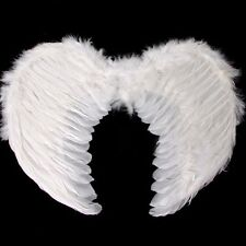Kids White Feather Angel Wings Valentine Day Fancy Dress Costume Hen Night Gifts