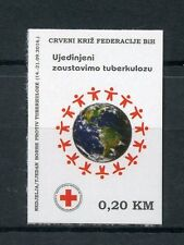 Bosnia & Herzegovina 2016 MNH Red Cross Tuberculosis TB 1v S/A Set Stamps