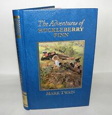 The Adventures of Huckleberry Finn- Mark Twain, HB, 1987 - The Great Writers.
