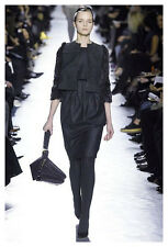 Yves Saint Laurent (Sz.Fr40) Fall 2007 Runway! Gray Wool/Cashmere Shift Dress