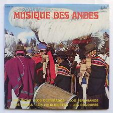 Musique des Andes LOS INCAS LOS DESPERADOS LOS PERUVIANOS .. 106 2XLP