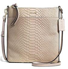 Coach Madison Bond Leather North South Blush Swingpack Crossbody Bag 50829 7274eb8943