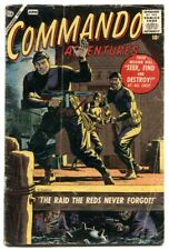 Commando Adventures #1 1957- Atlas War comic G+