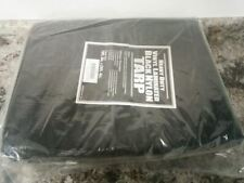 Brand Name 5WTX9 20 x 30 Ft Cut Size Black Heavy Duty Vinyl Tarp