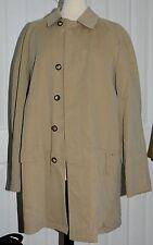 BURBERRY London Newholm Men Beige light brown trench rain coat sz 54