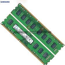 Samsung 16GB 2x8GB 2RX8 DDR3 1600MHz PC3-12800  240PIN  Desktop DIMM Memory