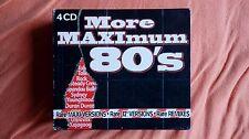More Maximum 80's - 4 CD Compilation