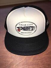 Tampa Bay Cigar City Brewing Baseball Trucker Cap Hat Snapback CCB NWOT
