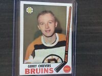 1969 Topps #22 Gerry Cheevers Bruins GOOD
