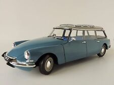 CITROEN ID 19 Break 1/18 Norev 181591 MONTE CARLO BLUE ID19 DS Kombi