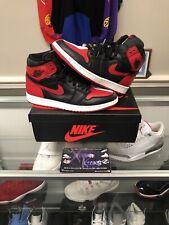 Nike Air Jordan Retro 1 Homage To Home Chicago OG High NRG Red Bred Size 12