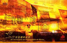 China Macau 2006 25th Macau University stamps S/S