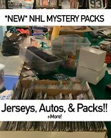 NEW MYSTERY NHL HOCKEY CARDS PACK! *READ DESC* PACKS-AUTOS-JERSEYS!!!