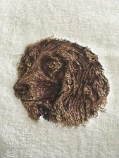 Boykin Spaniel, Hand Towel, Embroidered, Custom, Personalized, Dog
