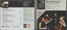 CD - ELIAS STRING QUARTET - HAYDN MENDELSSOHN & SCHUBERT CHAMBER MUSIC
