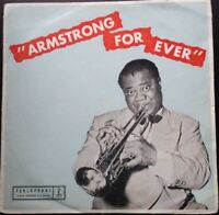 LOUIS ARMSTRONG - ARMSTRONG FOREVER LP - AUSSIE BLACK/GOLD PARLOPHONE MONO 7513