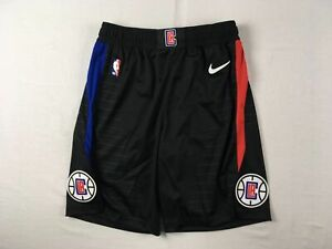 Los Angeles Clippers Nike Vaporknit Shorts Men's Black Poly NEW Multiple Sizes