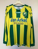ADO DEN HAAG 2008/2009 HOME FOOTBALL SHIRT VOETBAL TRIKOT HOLLAND JERSEY