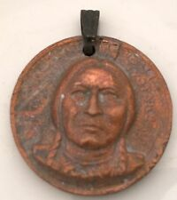 Antique American Coin Medal State of South Dakota Great Seal 1889 Indian