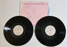 JOHN LENNON 'THE LOST LENNON TAPES' 1991 VINYL 2-LP RADIO SHOW