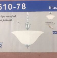 Thomas Lighting Whitmore Ceiling Lamp Brushed Nickel 2X - Sl861078