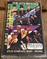 """A Blitz of Salt-N-Pepa Hits: The Hits Remixed"" CASSETTE 1990 London 828 365-4"