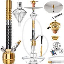 DILAW® NEXUS Shisha Edelstahl Set Hookah Komplettset Wasserpfeife Molassefänger