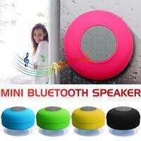 Mini Bluetooth Speaker Portable Waterproof Wireless Handsfree Speaker For Shower