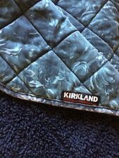 Two-sided Kirkland large dog blanket - fleece-like one side / sturdy cotton Guc