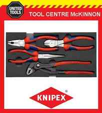 KNIPEX 00 20 01 V01 4pce PRO MIXED PLIER SET IN FOAM TRAY – MADE IN GERMANY