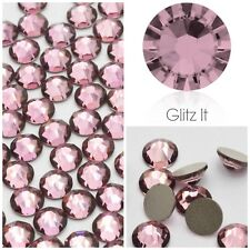 Swarovski Crystals X 100 Ss5 Antique Pink Glue on Rhinestones Flatbacks Nails